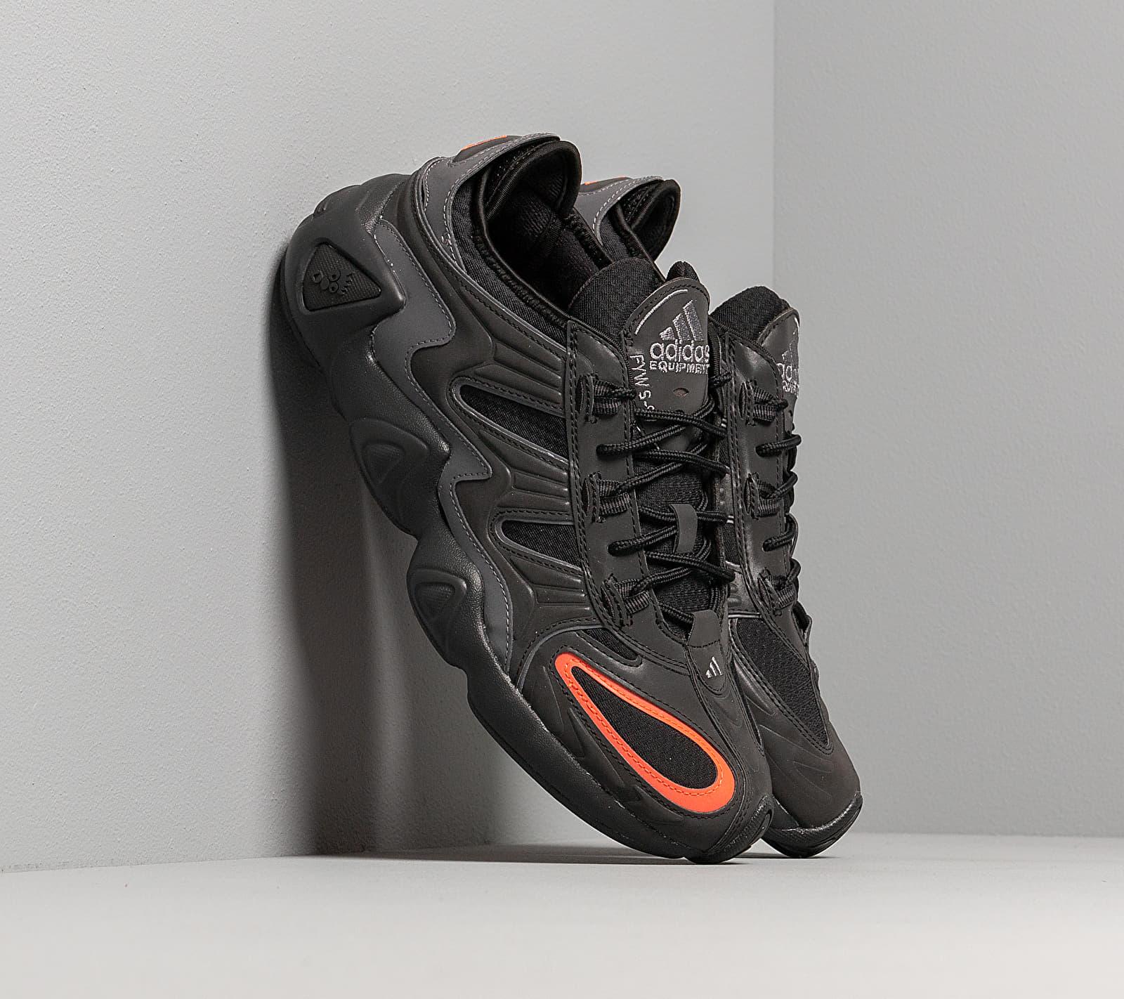 adidas FYW S-97 Core Black/ Core Black/ Solar Red EE5314
