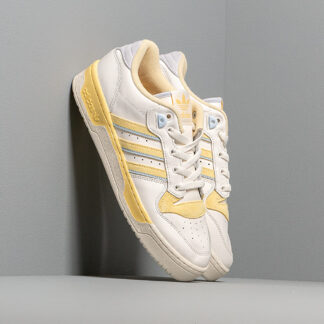 adidas Rivalry Low Cloud White/ Off White/ Easy Yellow EE5920