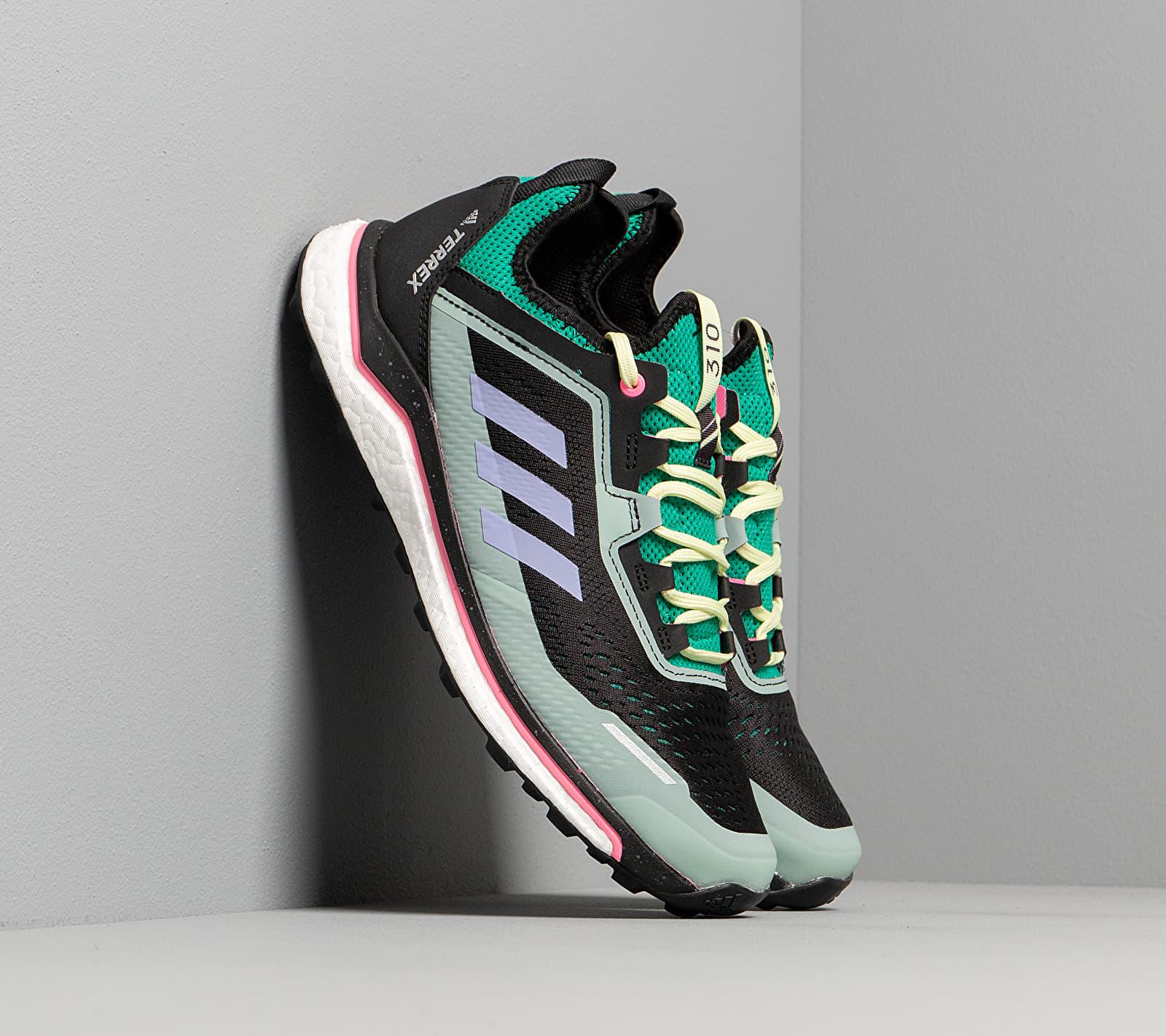 adidas Terrex Agravic Flow Glow Green/ Light Purple/ Green Tint EH0076