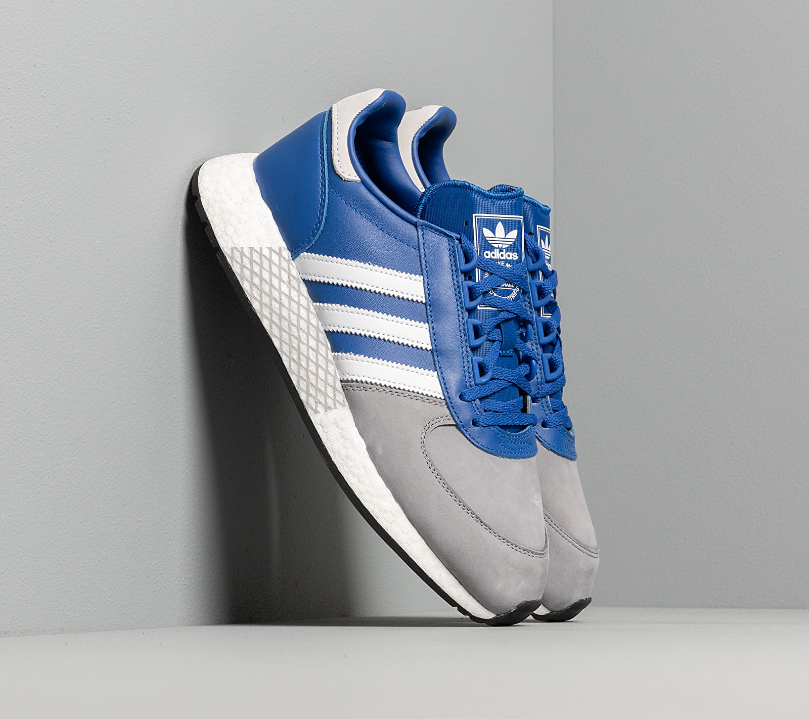 adidas Marathon Tech Royal Blue/ Ftw White/ Grey Three EF4395