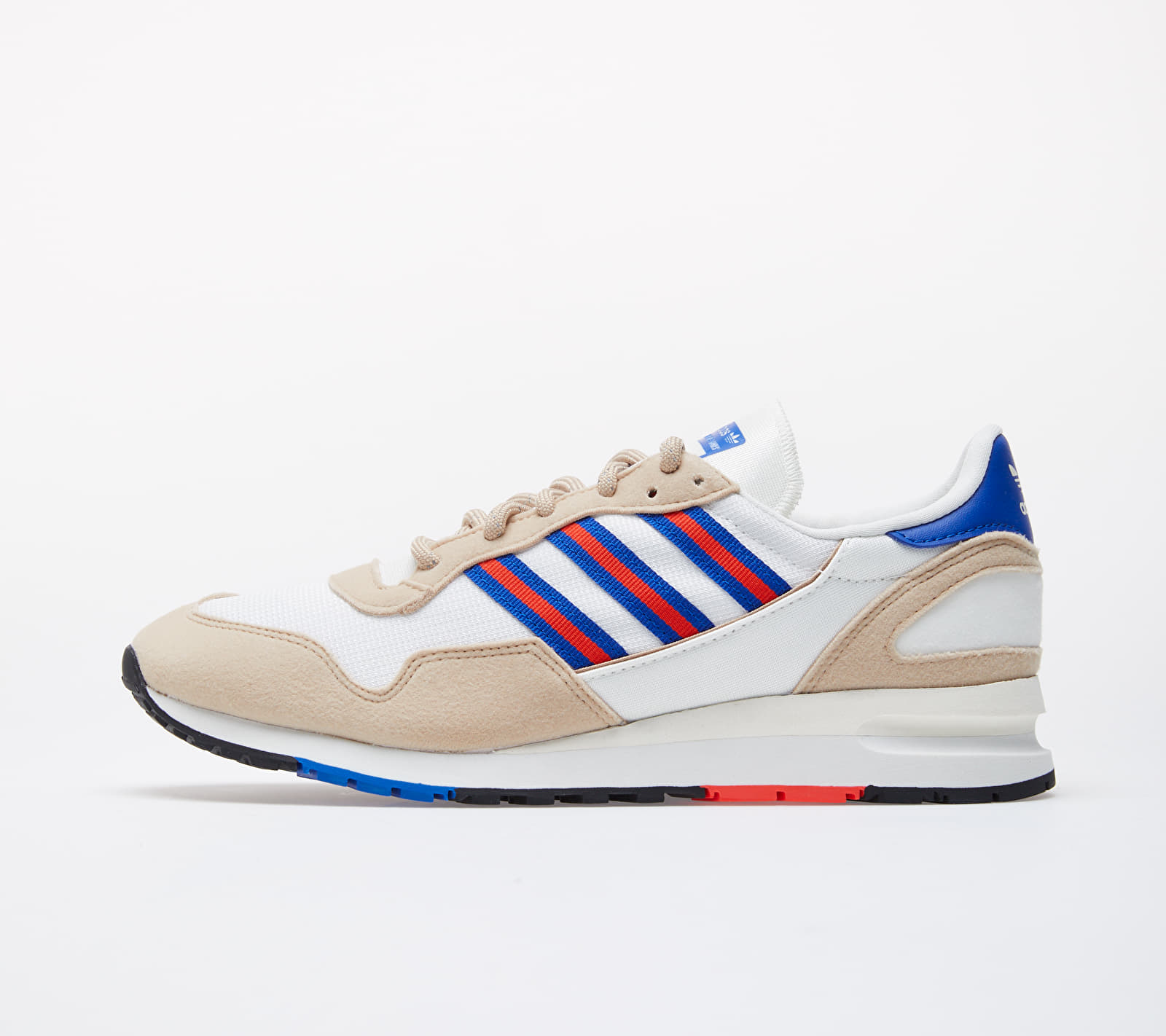 adidas Lowertree Off White/ Hi-Res Red/ Royal Blue EF4468