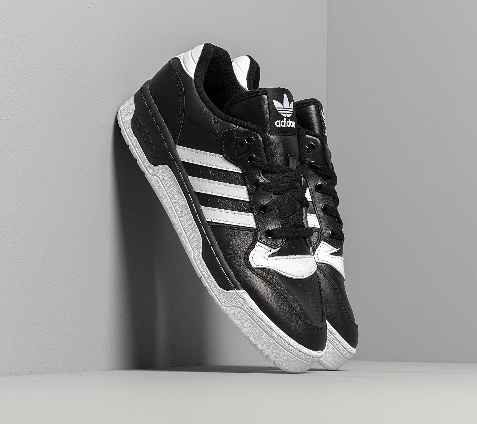 adidas Rivalry Low Core Black/ Ftw White/ Ftw White EG8063