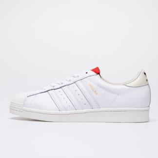 adidas x 424 Shelltoe Core White/ Core White/ Scarlet FW7624