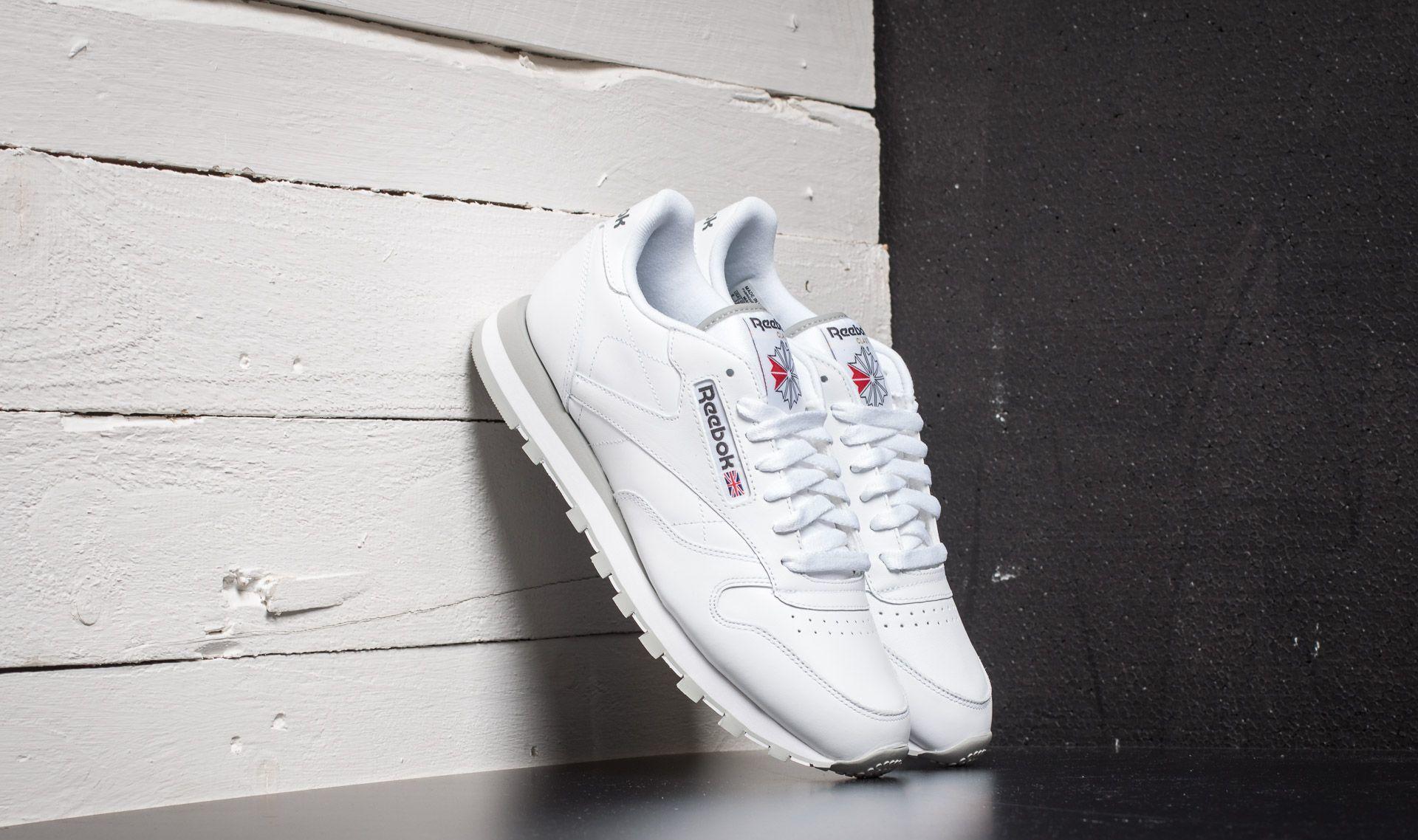Reebok Classic Leather White/Light Grey 2214