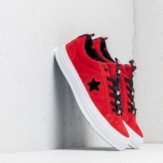 Converse x Hello Kitty One Star OX Fiery Red/ Black/ White 163905C