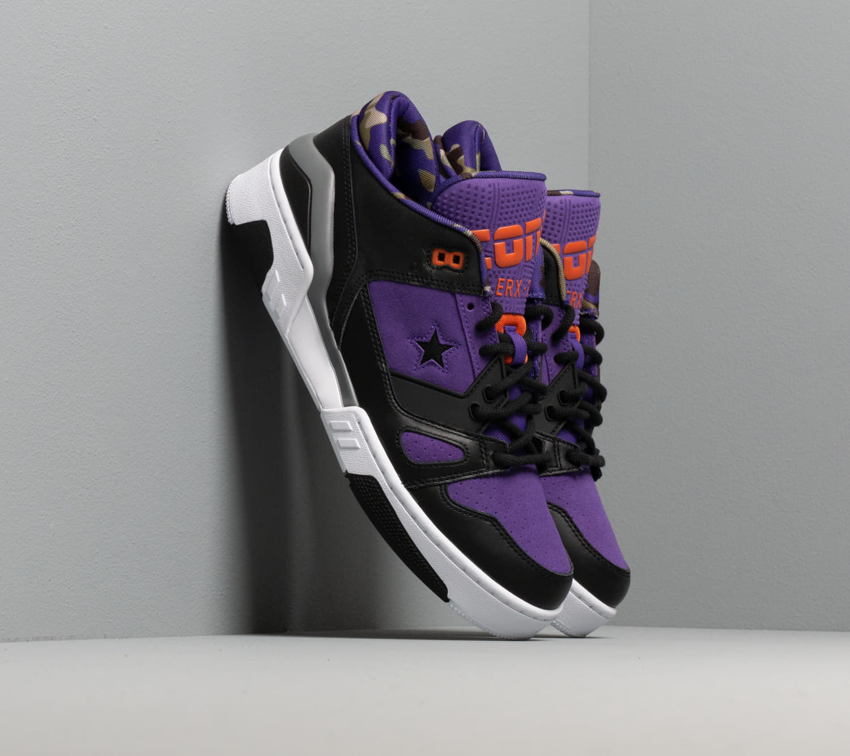 Converse Erx 260 Camo And Leather Court Purple/ Black/ White 165908C