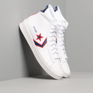 Converse Pro Leather Gold Standard White/Red 167058C