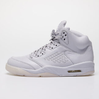 Air Jordan 5 Retro Premium Pure Platinum/ Pure Platinum 881432-003