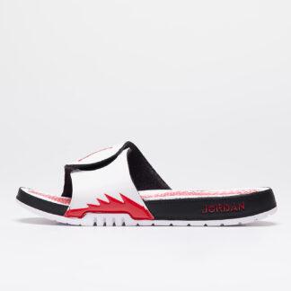 Jordan Hydro V Retro White/ Fire Red-Black 555501-101