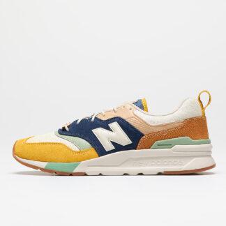 New Balance 997 Yellow/ Navy CM997HAO