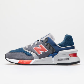 New Balance 997 Gray/ Red MS997LGS