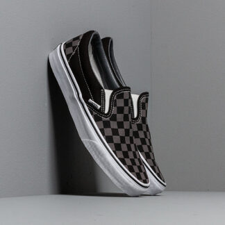 Vans Classic Slip-On Black/ Pewter Checkerboard VN000EYEBPJ1
