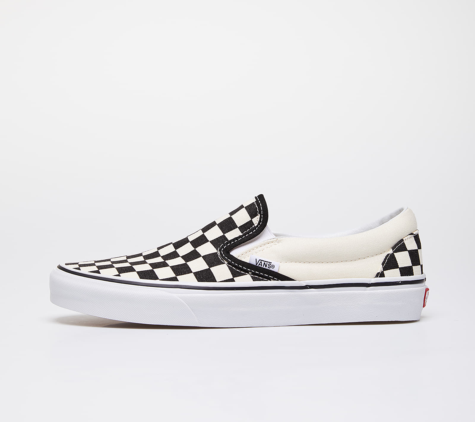 Vans Classic Slip-On Black & White Checkerboard/ White VN000EYEBWW1