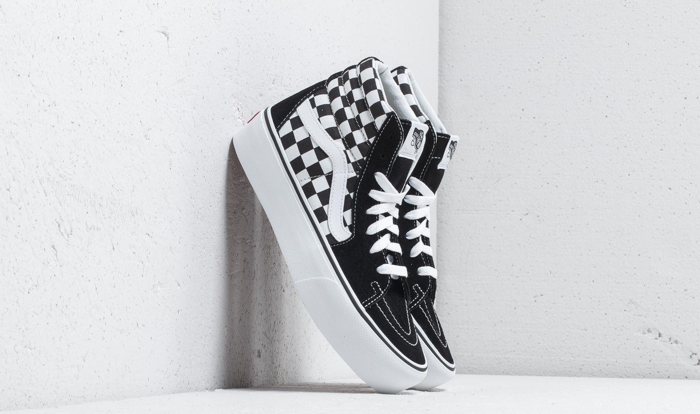 Vans Sk8-Hi Platform 2 Checkerboard/ True White VN0A3TKNQXH1