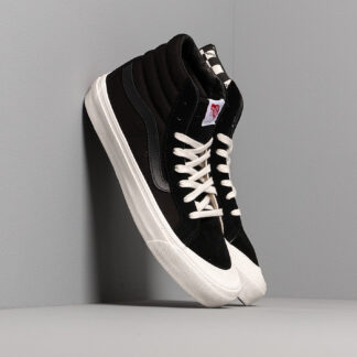 Vans OG Style 138 LX (Suede/ Canvas) Black/ Checkerboard VN0A3DP9VQA1