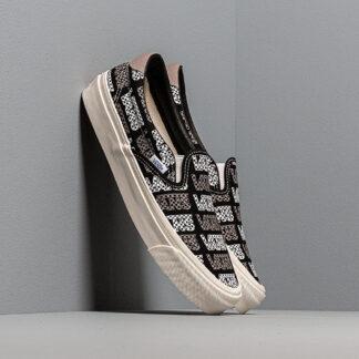 Vans OG Slip-On 59 LX (Canvas) Black/ Logo Checkerboard VN0A4BVDVZ91