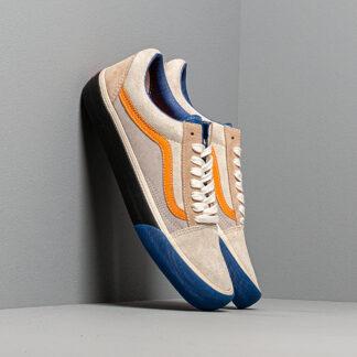 Vans Old Skool VLT LX (Suede/ Leather) True Blue/ Candied Ginger VN0A4BVFVYN1