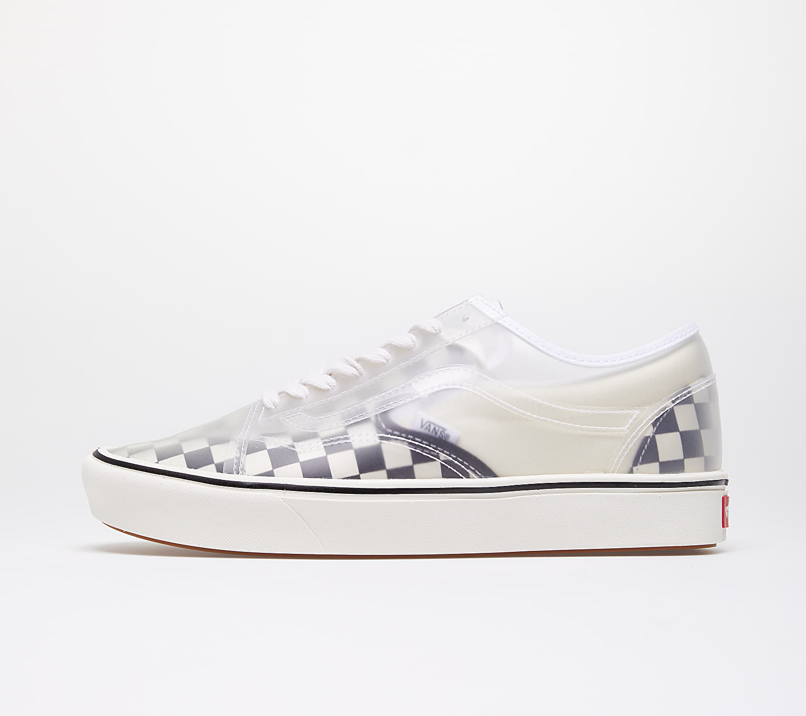Vans ComfyCush Slip-Skool (Checkerboard) Black/ White VN0A4P3E5GX1