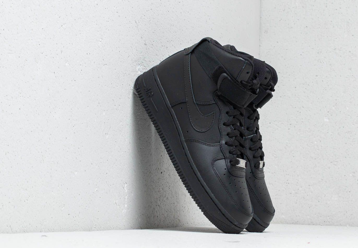 Nike Wmns Air Force 1 High Black/ Black-Black 334031-013