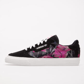adidas Continental Vulc W Core Black/ Crystal White/ Shock Pink EG2694