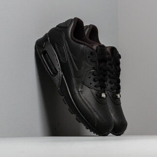 Nike Air Max 90 Leather Black/ Black 302519-001