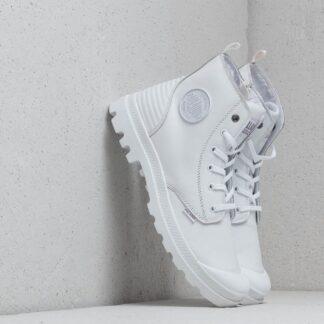 Palladium Pampa Hi Zip Pony PR White/ White 75984-101-M