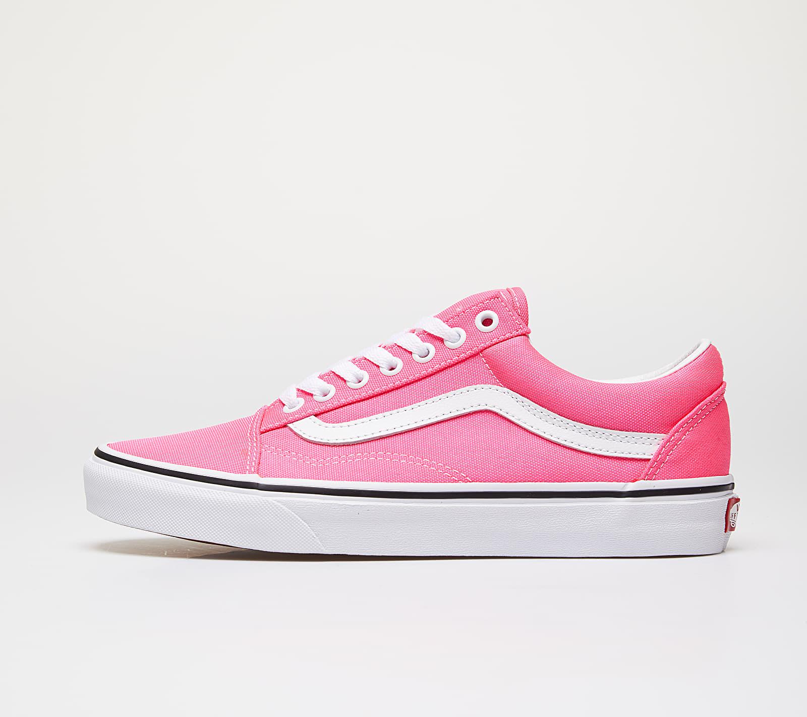Vans Old Skool (Neon) Knockout Pink/ True White VN0A4U3BWT61