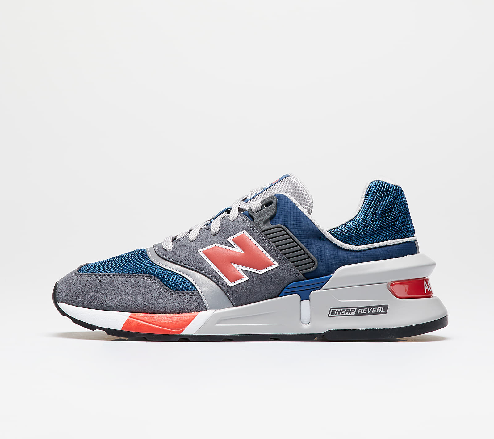 New Balance 997 Gray/ Red MS997LGS