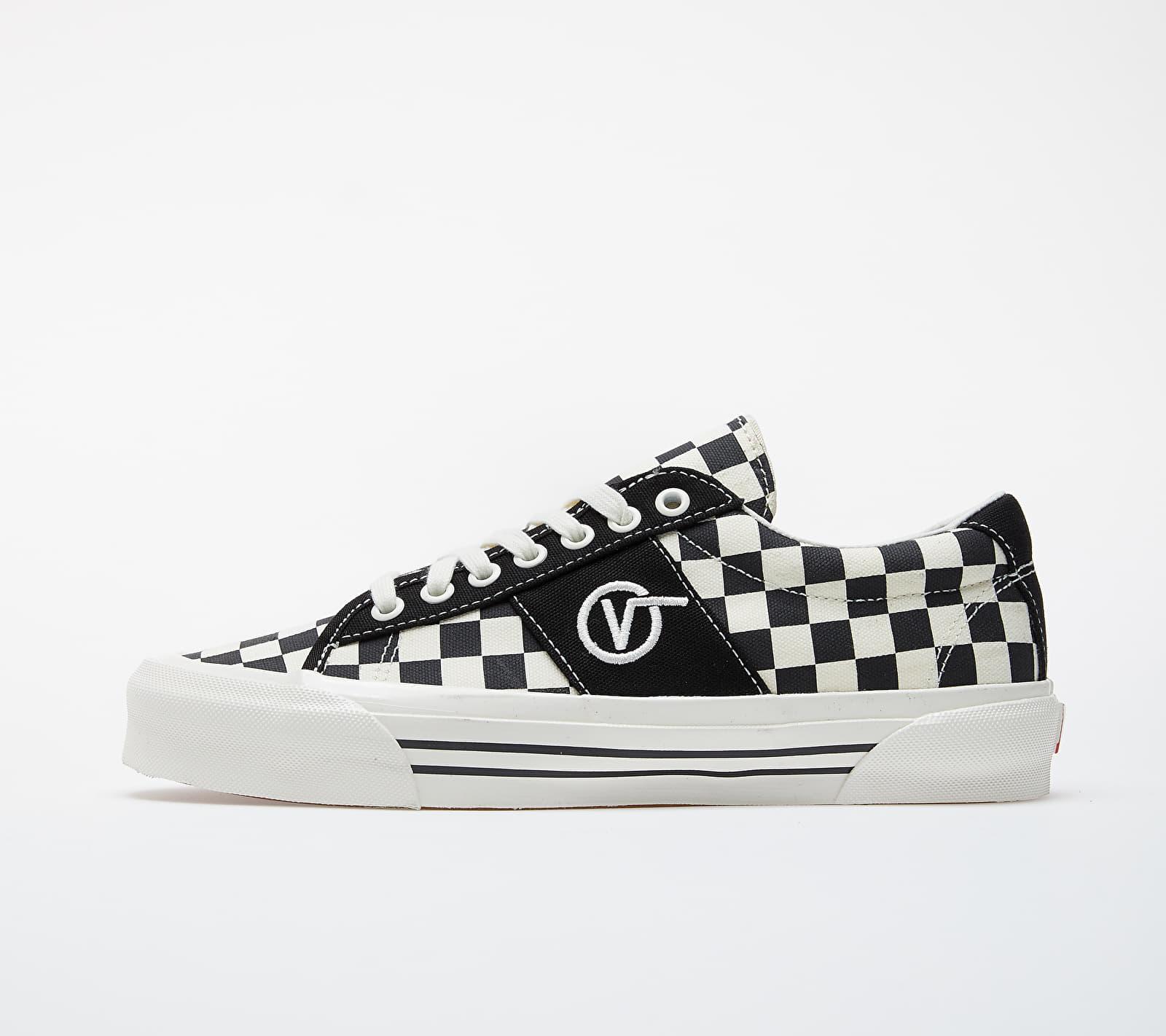 Vans OG Sid LX (Canvas/ Checkerboard) Black/ White VN0A4U13XC81