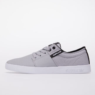 Supra Stacks II Lt Grey Tuf-White S08183-056-M