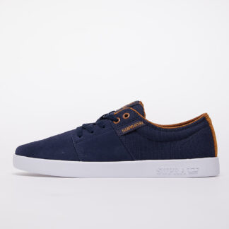 Supra Stacks II Navy/ Tan-White 08183-455-M