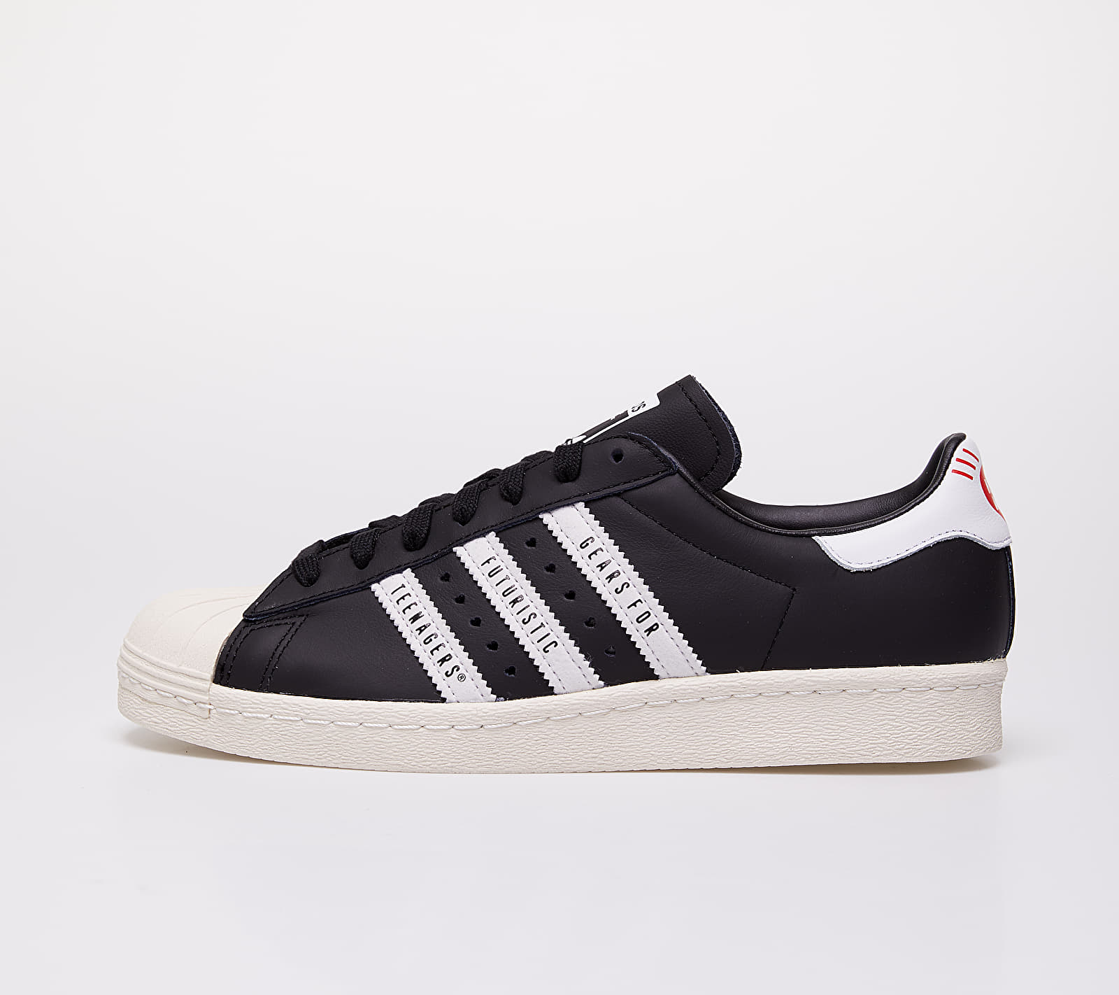 adidas x Pharrell Williams Superstar 80s Human Made Core Black/ Ftwr White/ Off White FY0729