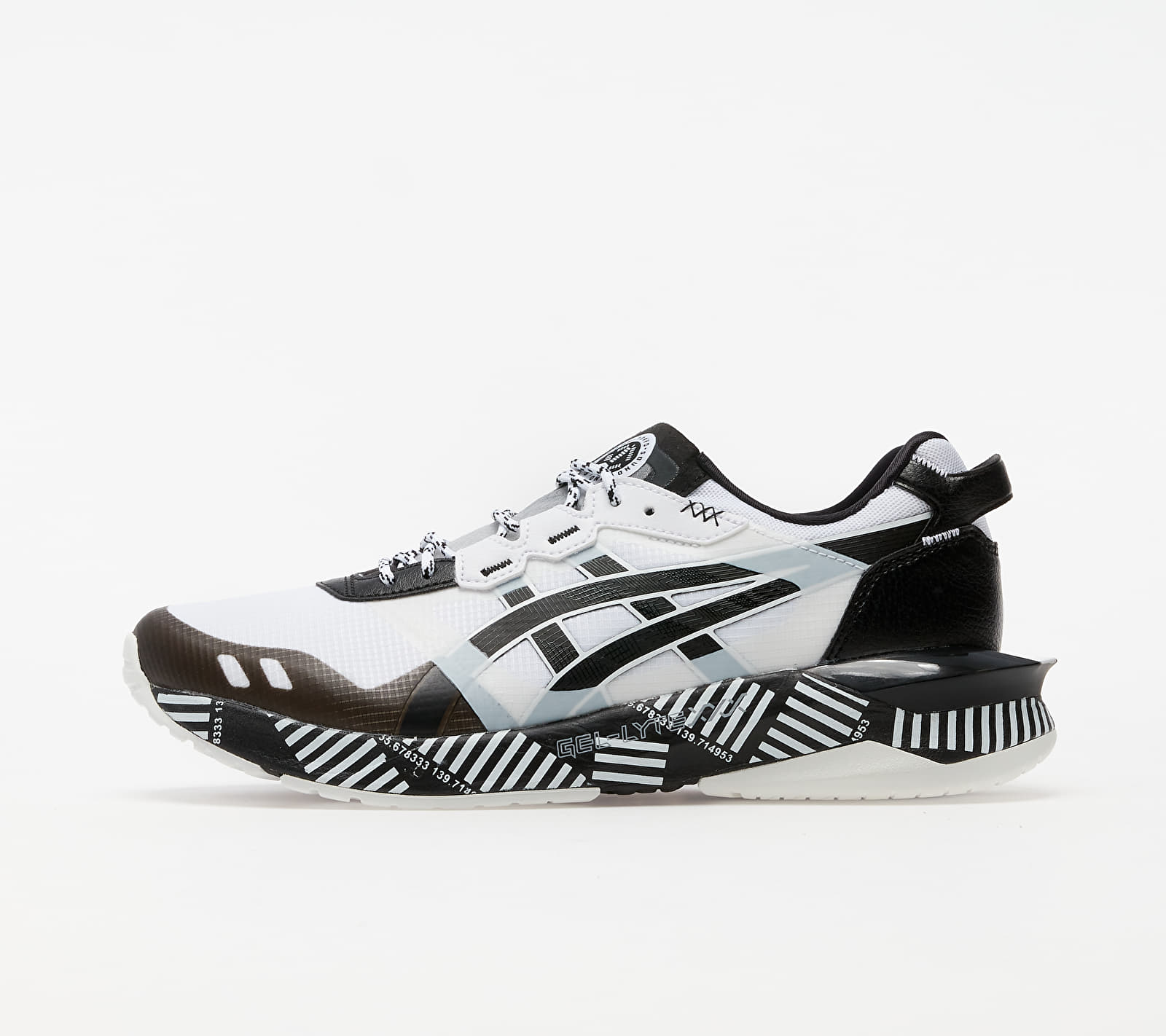 Asics Gel-Lyte XXX White/ Black 1021A391-100