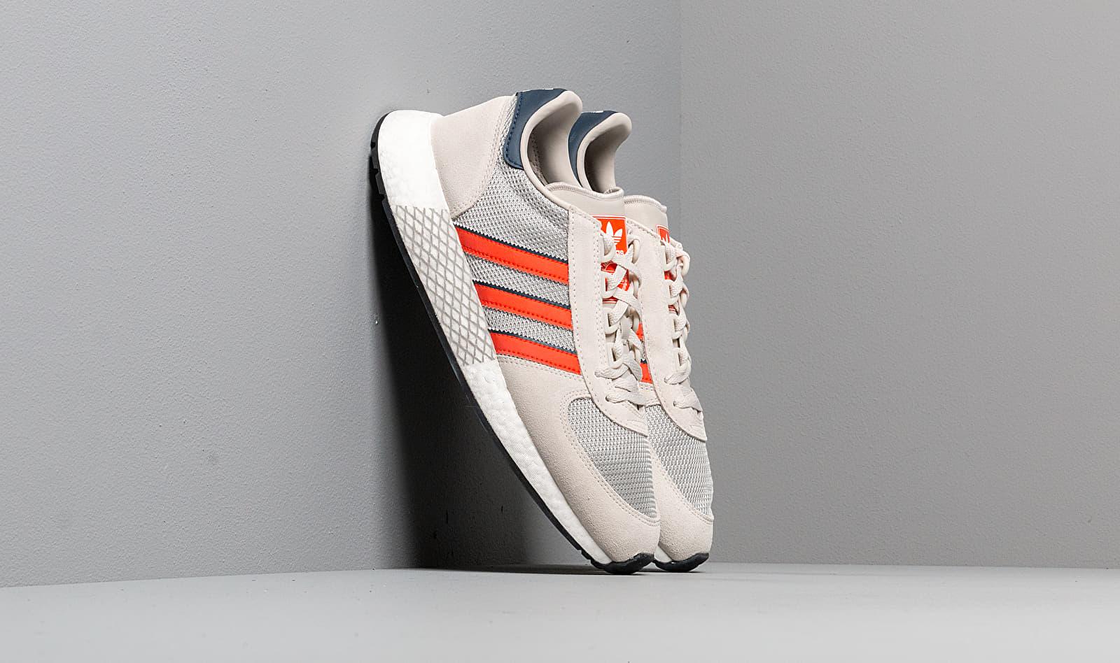 adidas Marathon Tech Raw White/ Active Orange/ Collegiate Navy EE4917