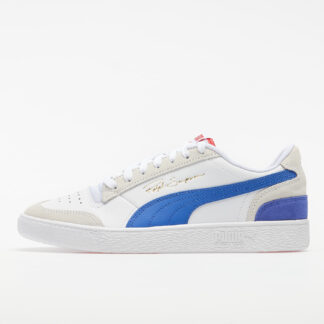Puma Ralph Sampson Lo Vintage Puma White-Dazzling Blue 37176701