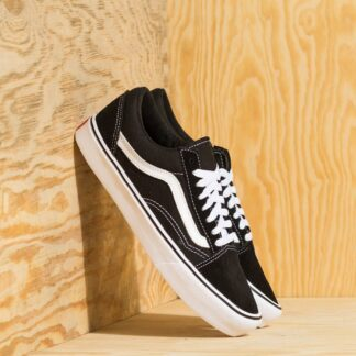 Vans Old Skool Lite (Suede/ Canvas) Black/ White VN0A2Z5WIJU
