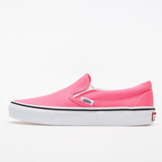 Vans Classic Slip-On (Neon) Knockout Pink/ True White VN0A4U38WT61