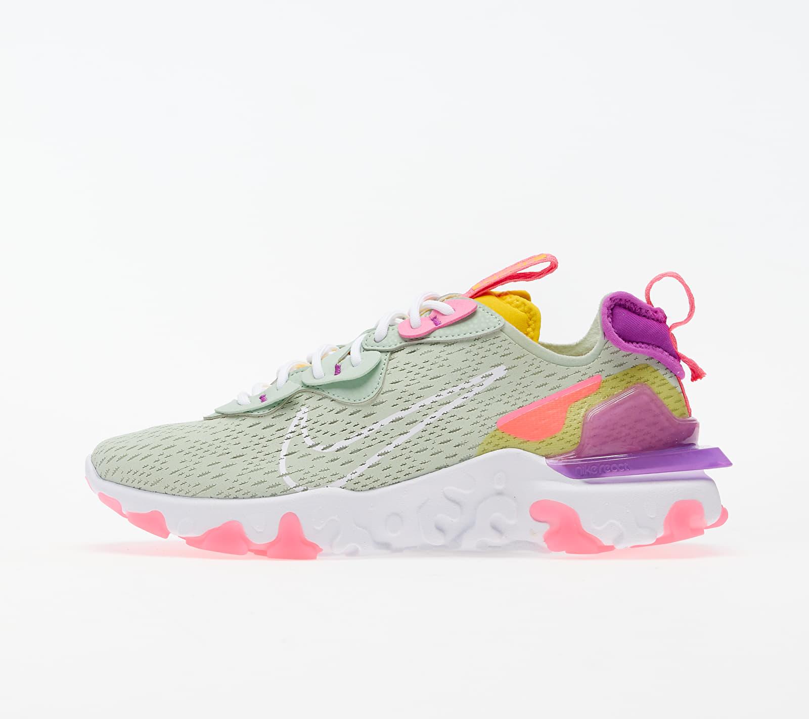 Nike W NSW React Vision Pistachio Frost/ White-Vivid Purple CI7523-300