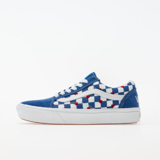 Vans ComfyCush Old Skool (Autism Awareness) Checkerboard/ True Blue VN0A3WMAWI41