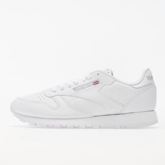 Reebok Classic Leather White/ White/ Light Grey FV7459