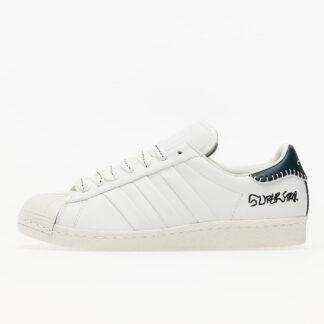 adidas x Jonah Hill Superstar Core White/ Green Night F17/ Off White FW7577