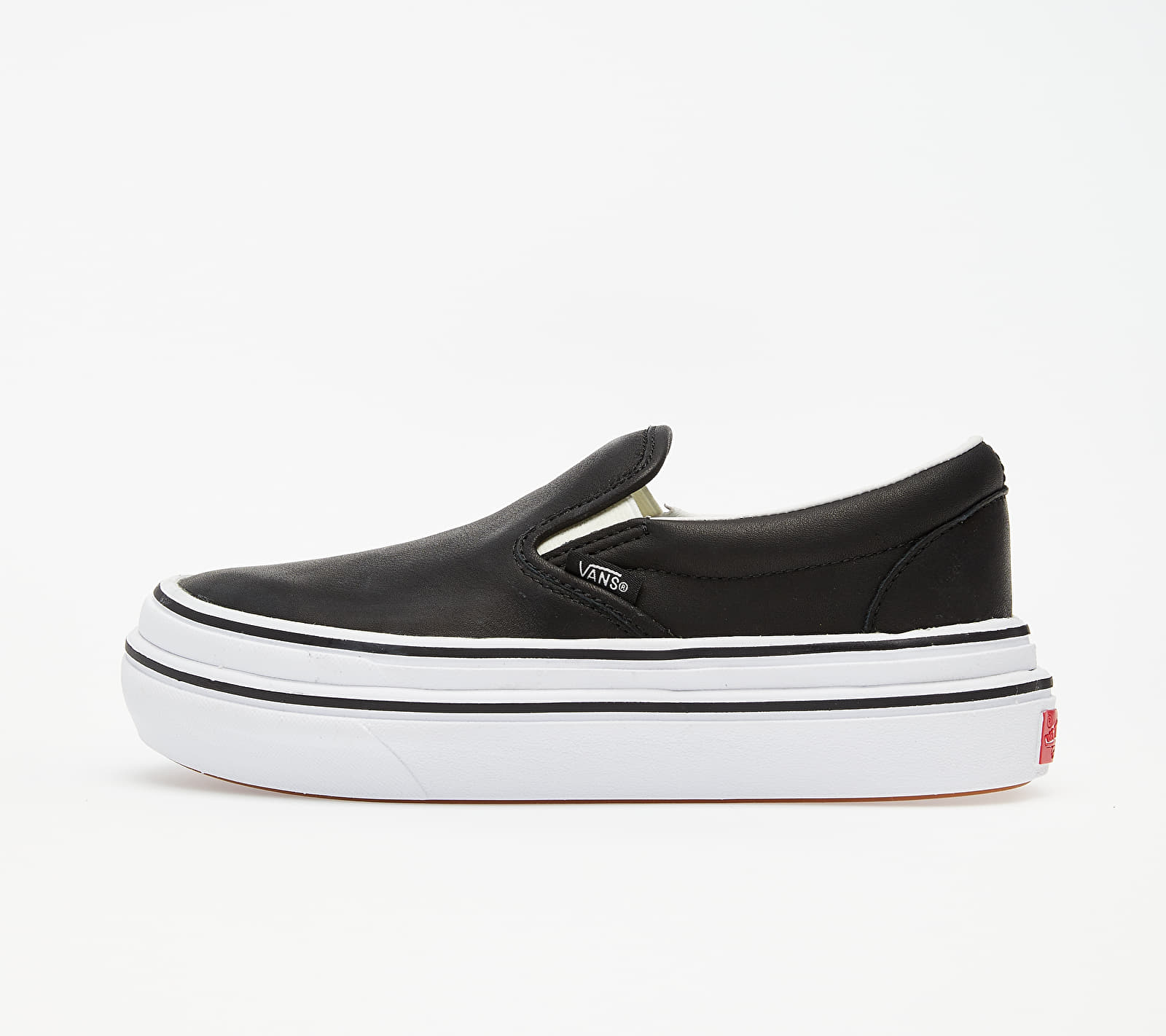 Vans Super Comfycush Slip-On (Leather) Black VN0A4U3IL3A1
