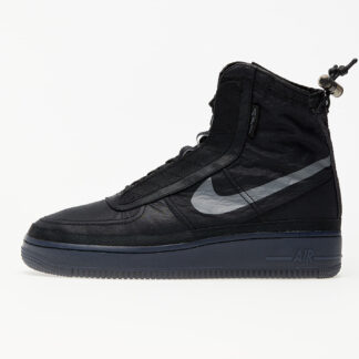 Nike W Air Force 1 Shell Black/ Dark Grey-Black BQ6096-001