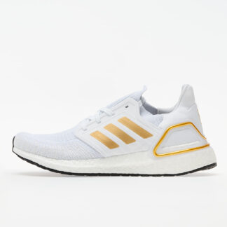 adidas UltraBOOST 20 W Ftw White/ Gold Metalic/ Core Black EG0727