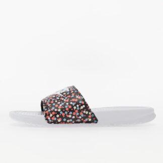 Nike Wmns Benassi JDI Print White/ White-Black-Magic Ember 618919-120