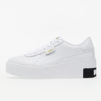 "Puma Cali Wedge Wn""s Puma White-Puma Black 37343803"
