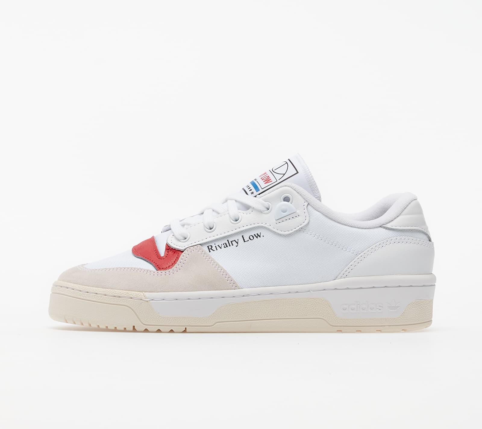 adidas Rivalry Low Ftw White/ Core White/ Glow Red EF6418