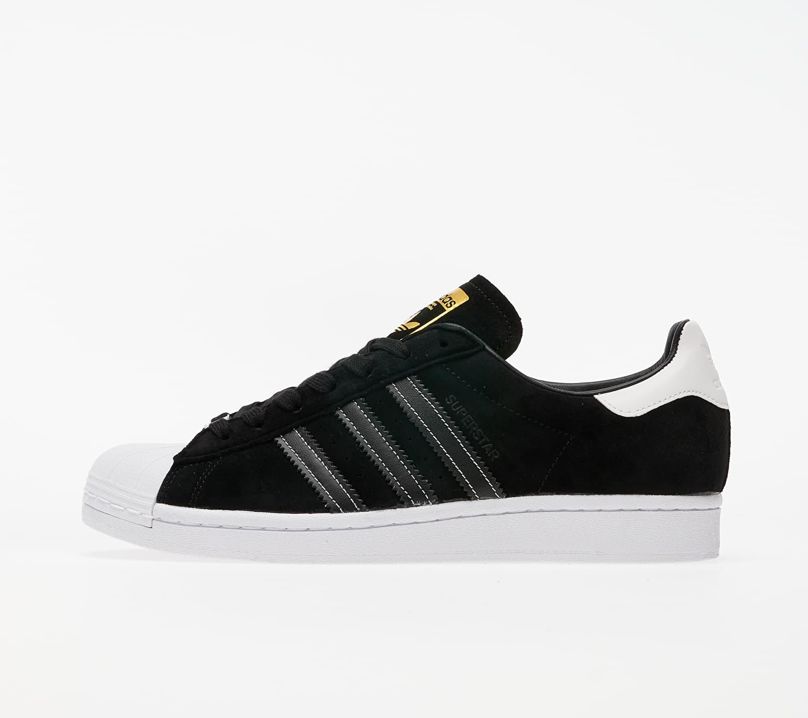 adidas Superstar Core Black/ Core Black/ Gold Metalic EH1543