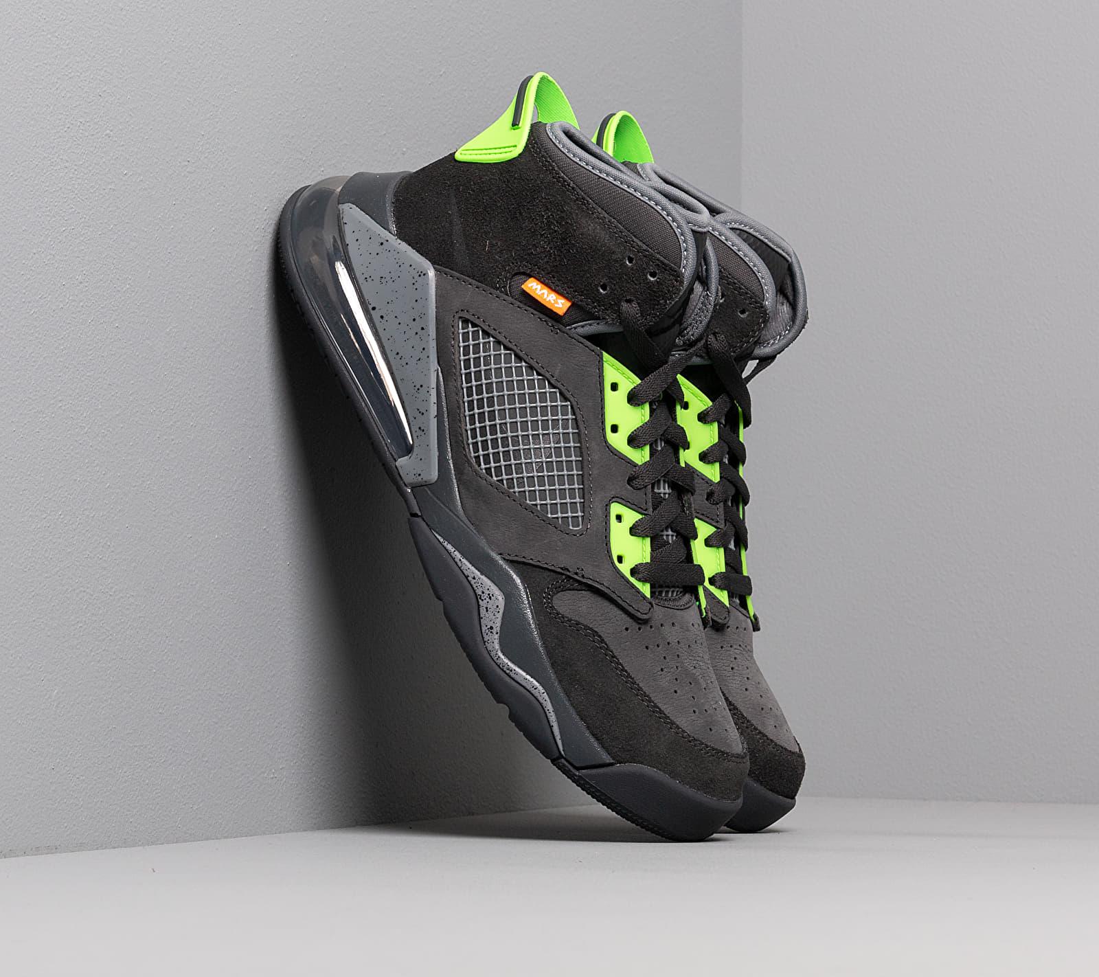 Jordan Mars 270 Anthracite/ Black-Electric Green CT9132-001