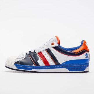 adidas Superstar Ftwr White/ Blue/ Scarlet FW8153